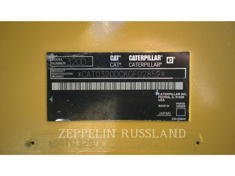 CATERPILLAR EXCAVADORAS DE CADENAS 320 D L equipment  photo 18