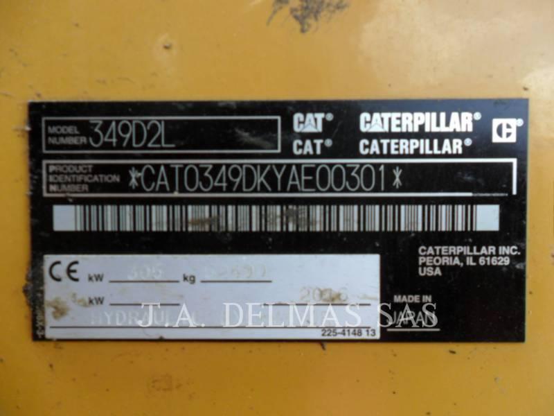 CATERPILLAR TRACK EXCAVATORS 349D2L equipment  photo 5
