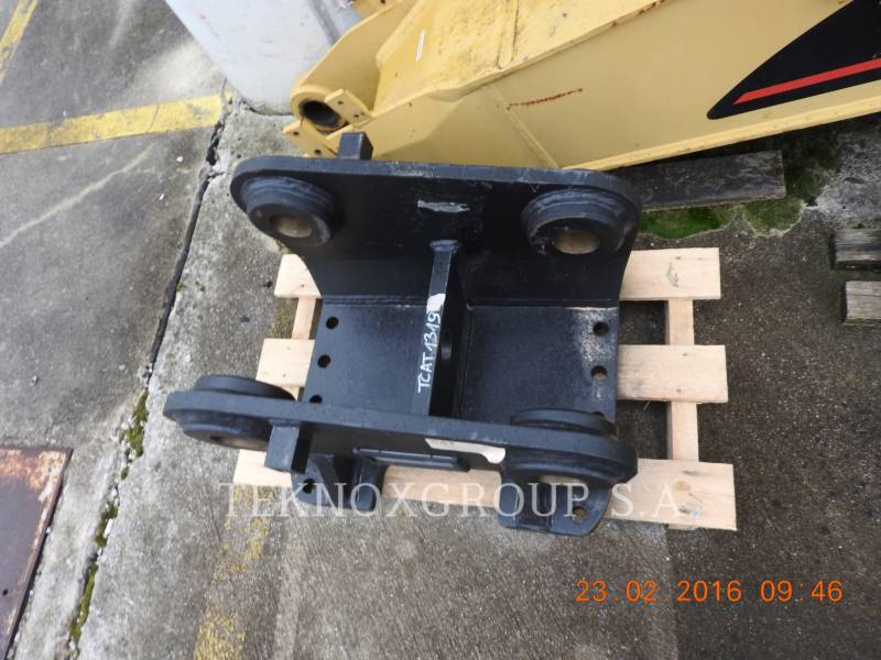 CATERPILLAR WT - ATTACHE RAPIDE CONNECTION PLATE H115/317 equipment  photo 3