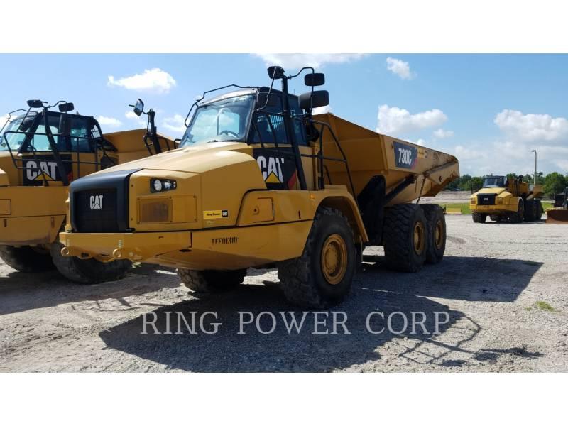 Caterpillar CAMIOANE ARTICULATE 730C equipment  photo 1