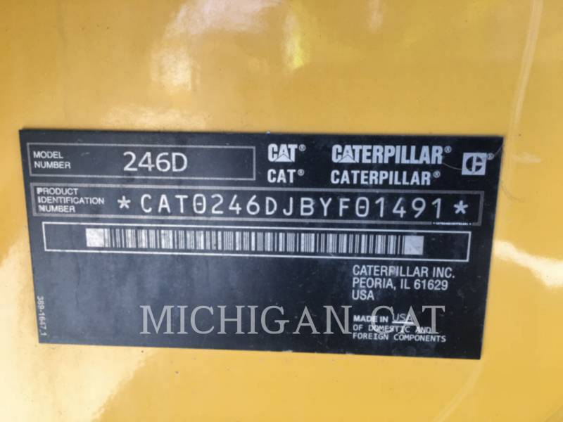 CATERPILLAR MINICARGADORAS 246D A2Q equipment  photo 12