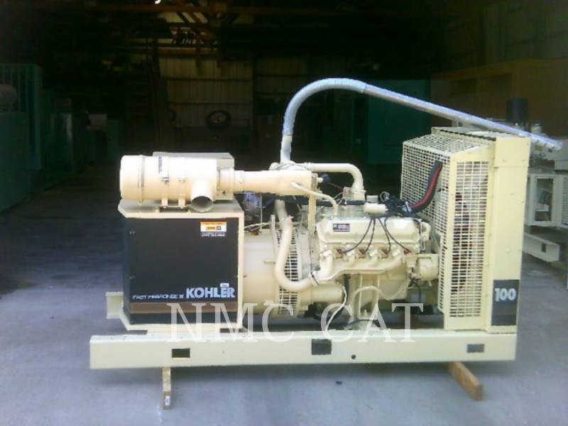 KOHLER STATIONARY GENERATOR SETS 100RZ282 equipment  photo 3
