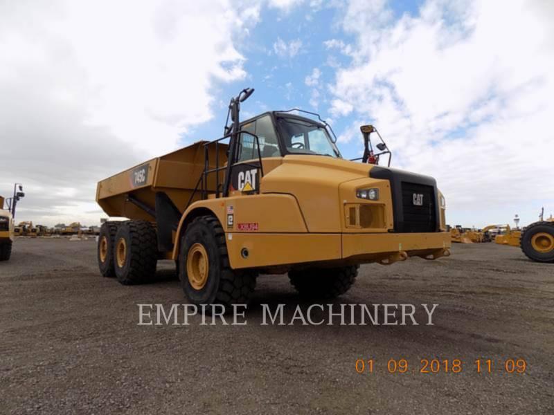 CATERPILLAR KNICKGELENKTE MULDENKIPPER 745C equipment  photo 1