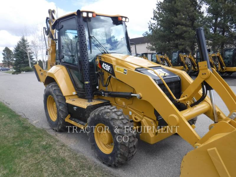 CATERPILLAR RETROESCAVADEIRAS 420F2 4ECB equipment  photo 5