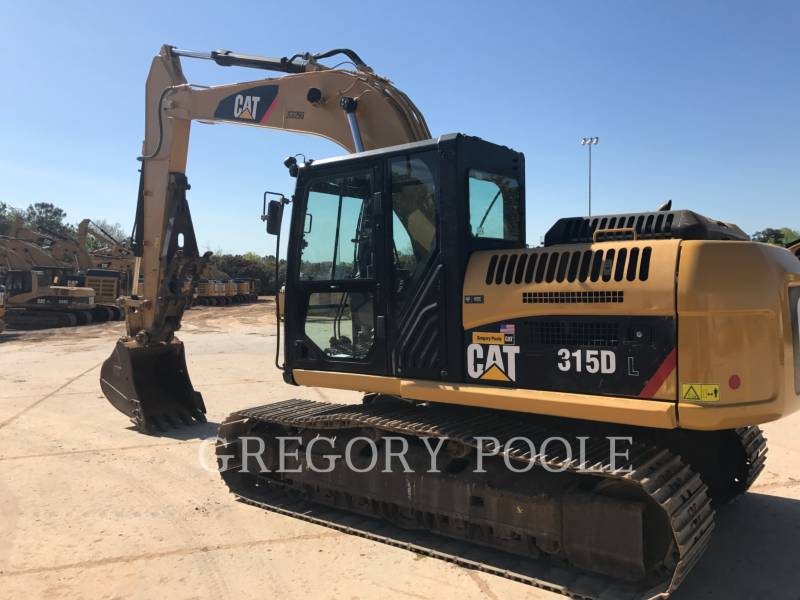 CATERPILLAR TRACK EXCAVATORS 315D L equipment  photo 7