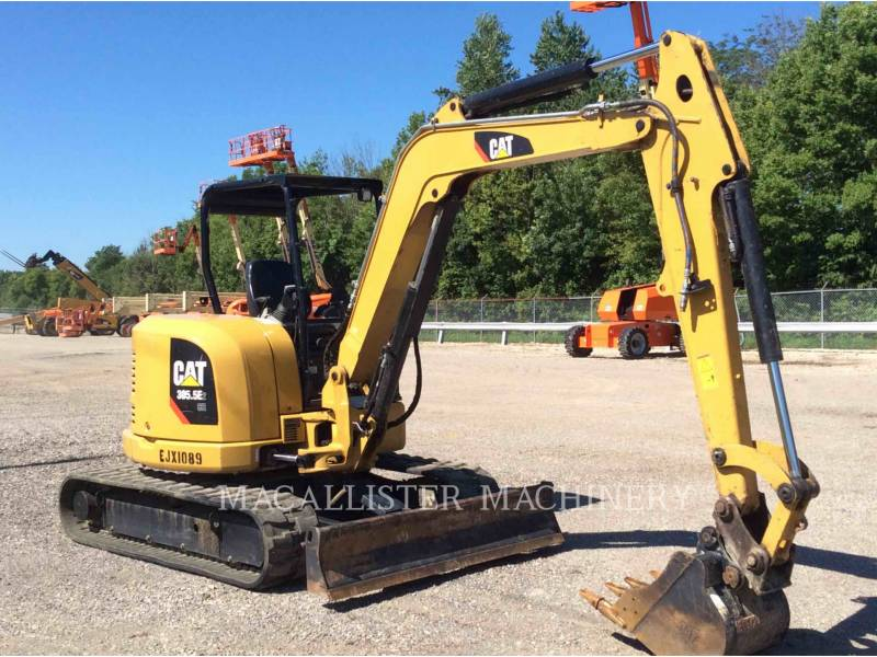 CATERPILLAR KETTEN-HYDRAULIKBAGGER 305.5 equipment  photo 2