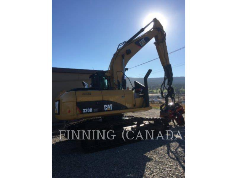 CATERPILLAR FORESTRY - PROCESSOR 320DFMHW equipment  photo 5