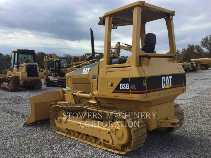 CATERPILLAR TRACK TYPE TRACTORS D3G equipment  photo 4