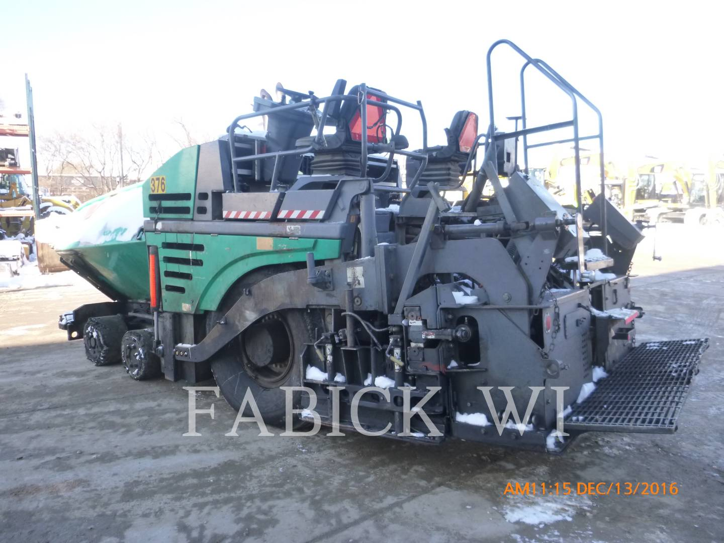 Detail photo of 2010 VÖGELE 5103-2 from Construction Equipment Guide