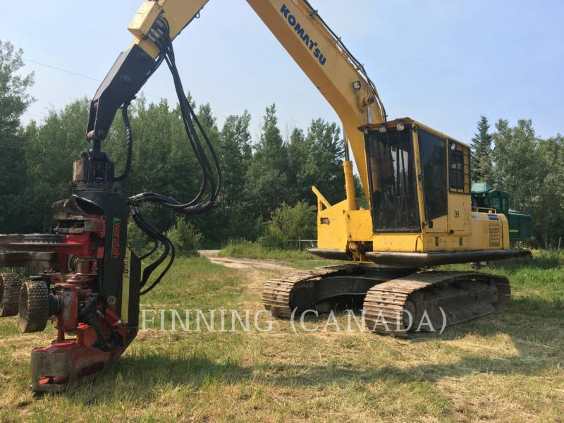KOMATSU Leśnictwo - Rozdrabniacz PC200LC-7 equipment  photo 2