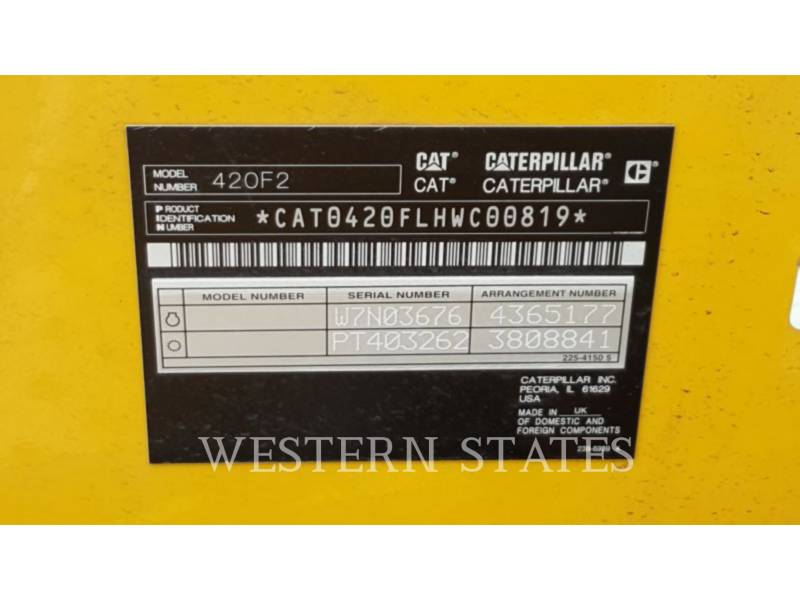 CATERPILLAR RETROESCAVADEIRAS 420F2 equipment  photo 5