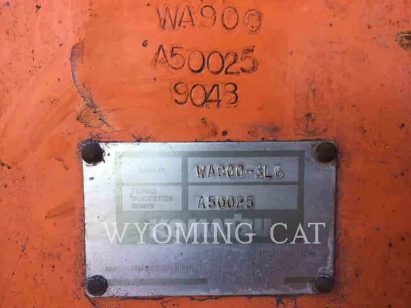 KOMATSU LTD. 鉱業用ホイール・ローダ WA900-3LC equipment  photo 9