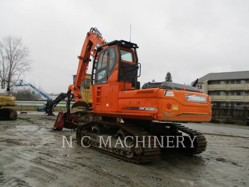 DOOSAN INFRACORE AMERICA CORP. MASZYNA LEŚNA DX300LL equipment  photo 5