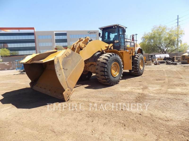 CATERPILLAR RADLADER/INDUSTRIE-RADLADER 980K equipment  photo 1