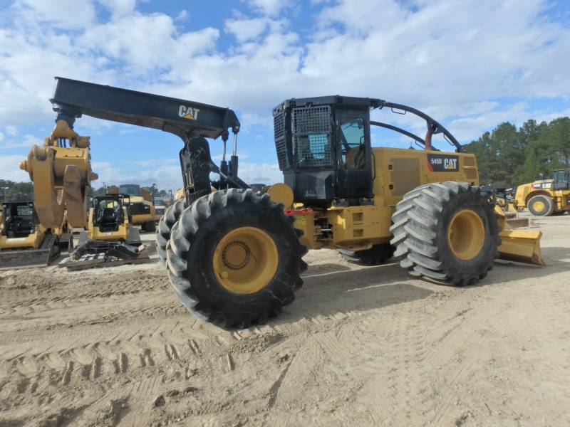 CATERPILLAR SILVICULTURA - TRATOR FLORESTAL 545D equipment  photo 4