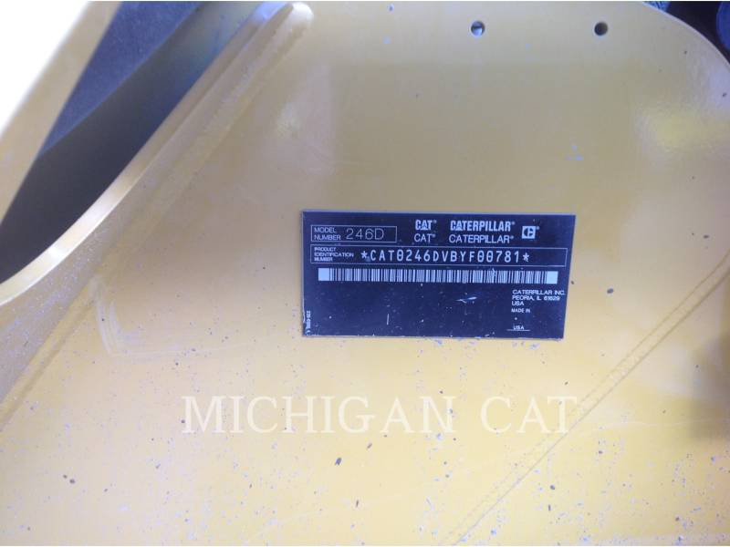 CATERPILLAR CHARGEURS COMPACTS RIGIDES 246D C2Q equipment  photo 13