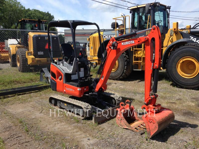 KUBOTA CANADA LTD. TRACK EXCAVATORS KX018-4 equipment  photo 4
