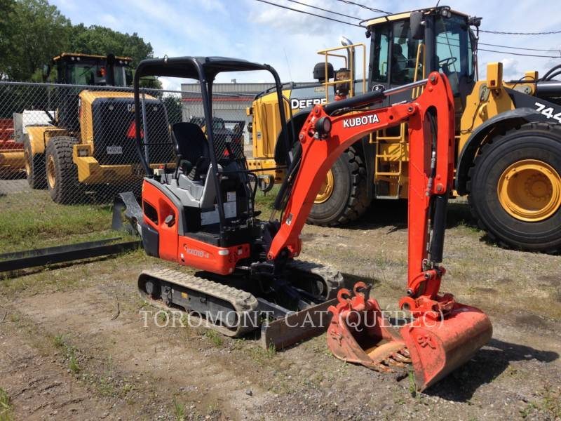 KUBOTA CANADA LTD. PELLES SUR CHAINES KX018-4 equipment  photo 4