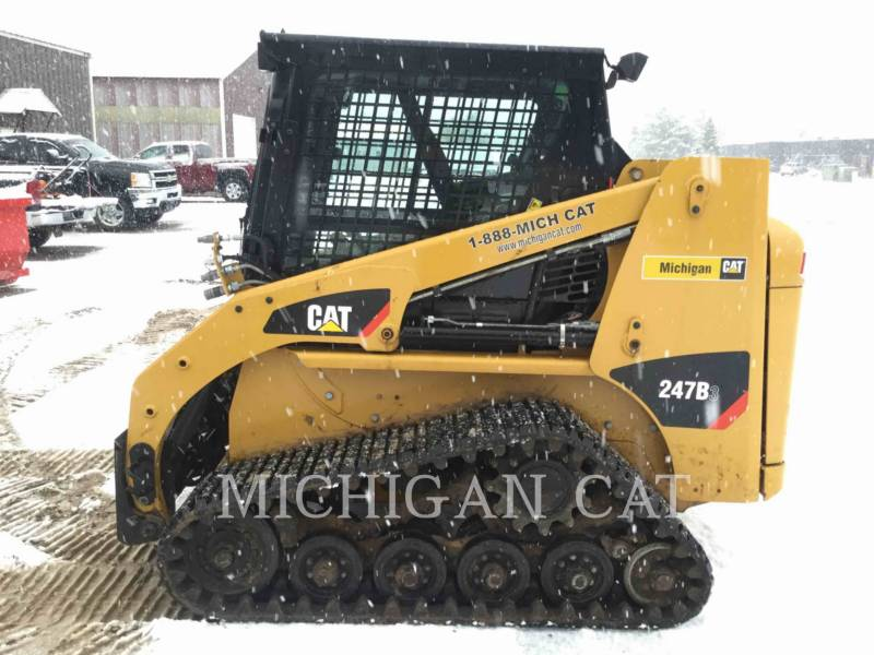 CATERPILLAR CHARGEURS TOUT TERRAIN 247B3 CQ equipment  photo 16