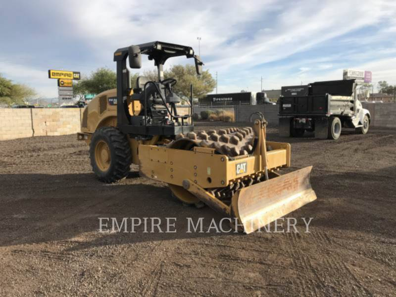 CATERPILLAR VIBRATORY SINGLE DRUM PAD CP44B equipment  photo 1