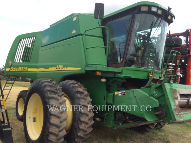 DEERE & CO. COMBINES WR9660 equipment  photo 2