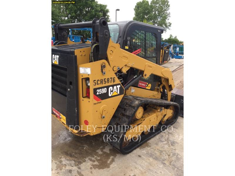 CATERPILLAR CARGADORES MULTITERRENO 259DSTD2CA equipment  photo 4