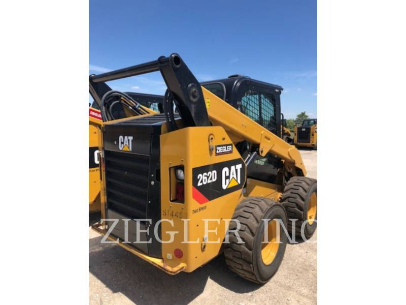 CATERPILLAR 滑移转向装载机 262D equipment  photo 1