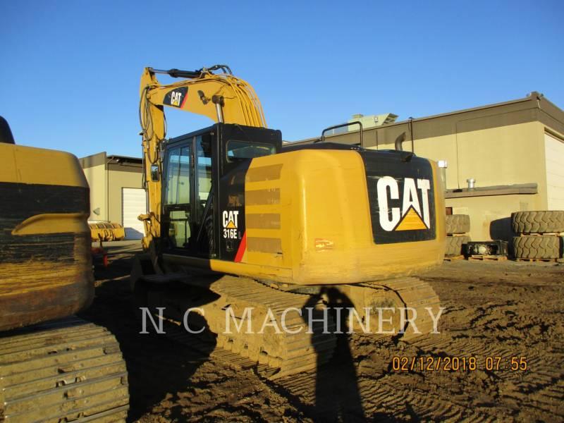 CATERPILLAR トラック油圧ショベル 316E equipment  photo 3