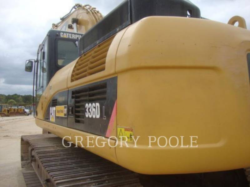 CATERPILLAR TRACK EXCAVATORS 336D equipment  photo 9