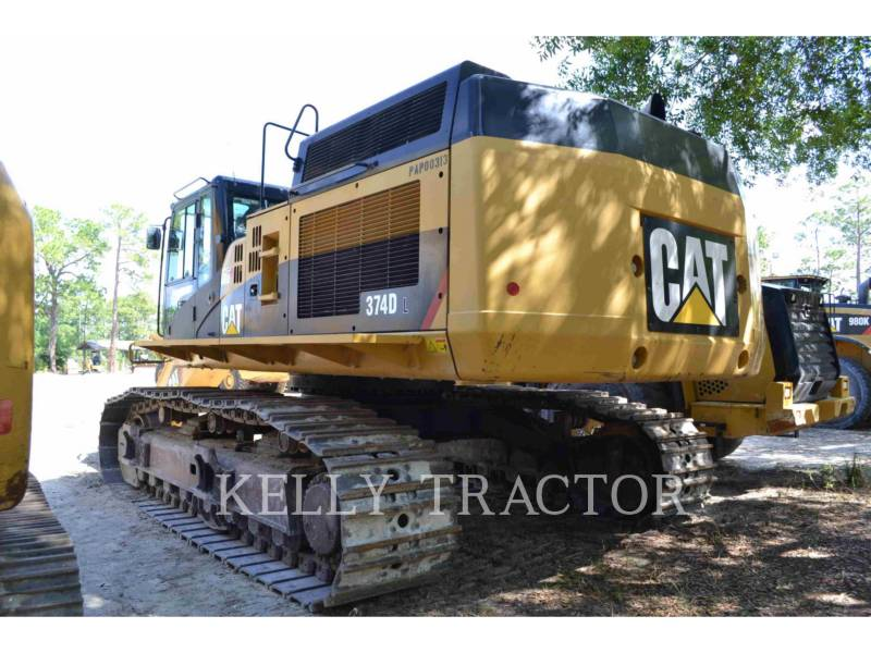 CATERPILLAR KETTEN-HYDRAULIKBAGGER 374DL equipment  photo 2