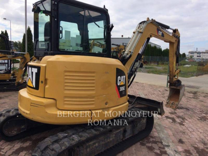 CATERPILLAR KETTEN-HYDRAULIKBAGGER 305 E CR equipment  photo 2