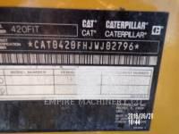 CATERPILLAR CHARGEUSES-PELLETEUSES 420F equipment  photo 12