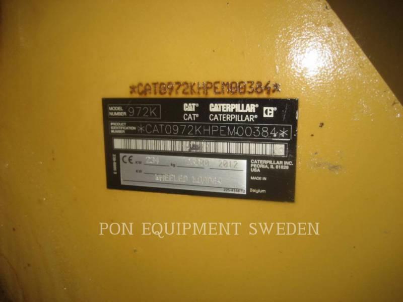 CATERPILLAR ŁADOWARKI KOŁOWE/ZINTEGROWANE NOŚNIKI NARZĘDZI 972 K equipment  photo 6