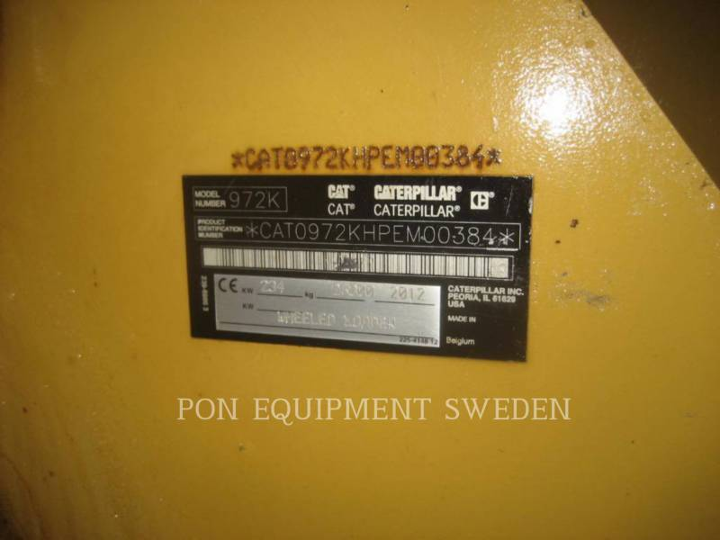 CATERPILLAR CARGADORES DE RUEDAS 972 K equipment  photo 6