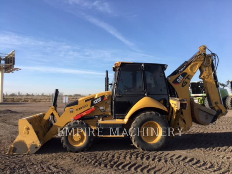 CATERPILLAR BAGGERLADER 420FST equipment  photo 10