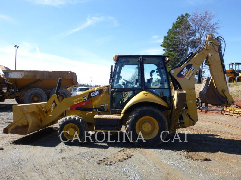 CATERPILLAR CHARGEUSES-PELLETEUSES 420F STCBE equipment  photo 1