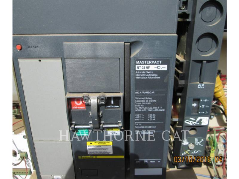 CATERPILLAR STATIONARY - NATURAL GAS (OBS) G3406 SINA equipment  photo 14
