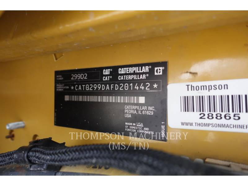 CATERPILLAR MULTITERREINLADERS 299D2 equipment  photo 14