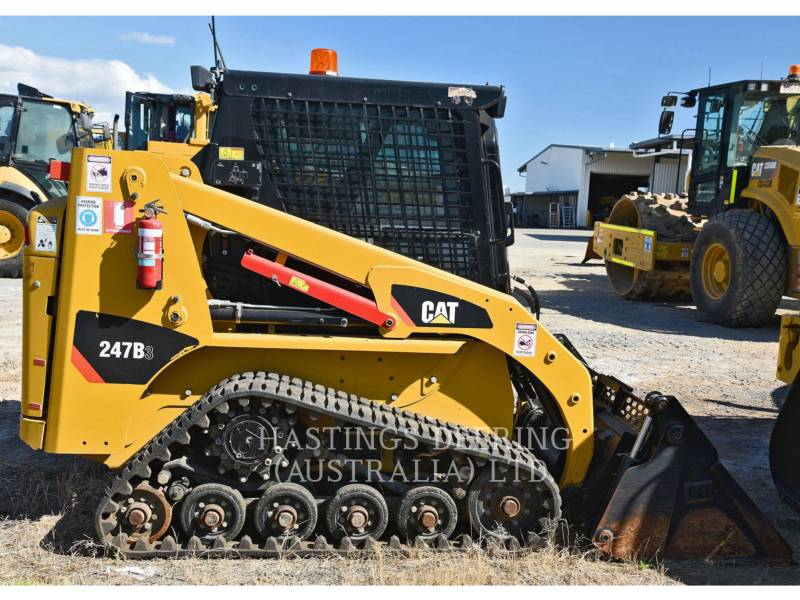 CATERPILLAR DELTALADER 247B3LRC equipment  photo 7