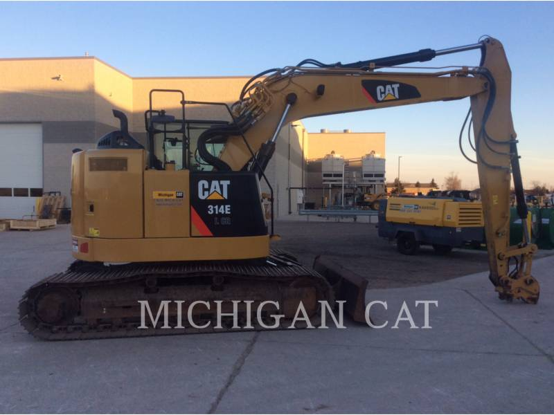 CATERPILLAR KETTEN-HYDRAULIKBAGGER 314ELCR equipment  photo 15