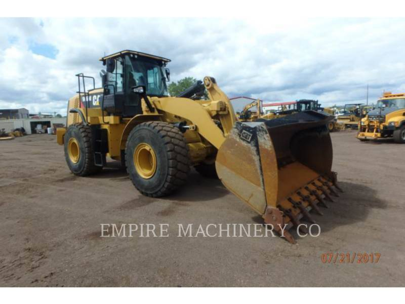 CATERPILLAR RADLADER/INDUSTRIE-RADLADER 966M FC equipment  photo 1