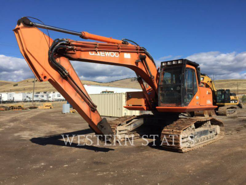 DAEWOO FORESTRY - LOG LOADERS DAWO 220FM equipment  photo 1