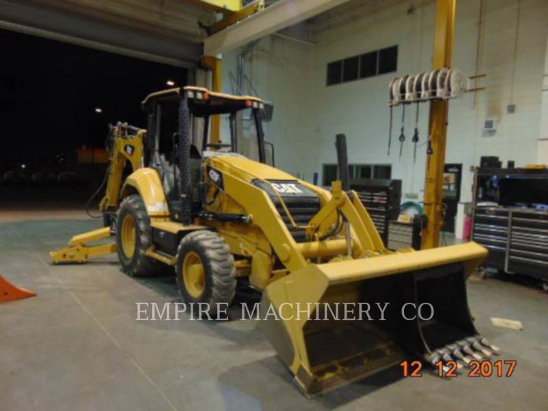 CATERPILLAR BAGGERLADER 420F2 4EOP equipment  photo 1