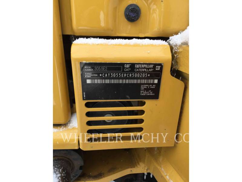 CATERPILLAR ESCAVATORI CINGOLATI 305.5E2C1T equipment  photo 9