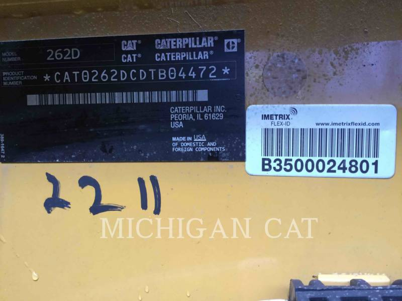 CATERPILLAR CHARGEURS COMPACTS RIGIDES 262D equipment  photo 22