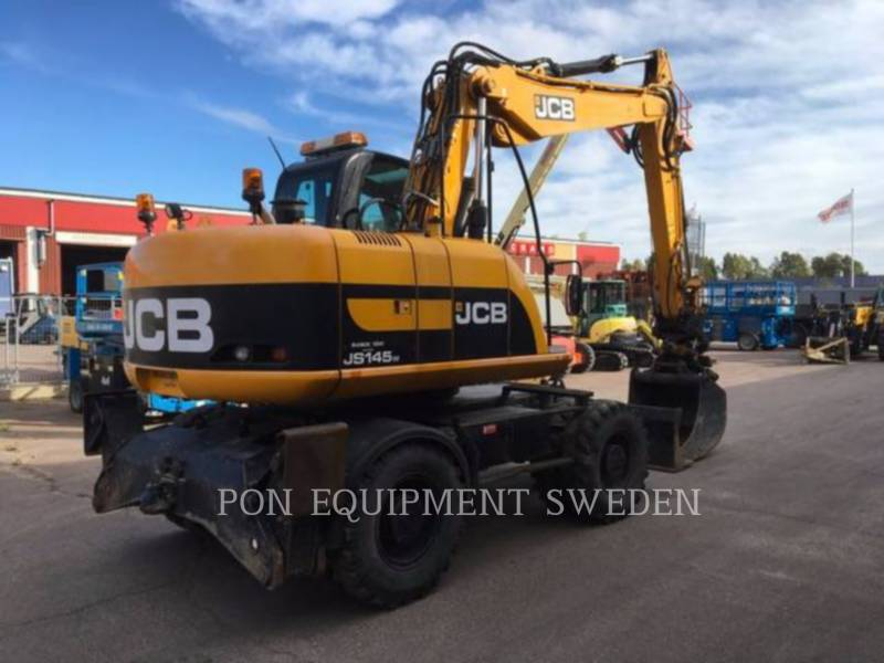 JCB PELLES SUR PNEUS JS145 W equipment  photo 3