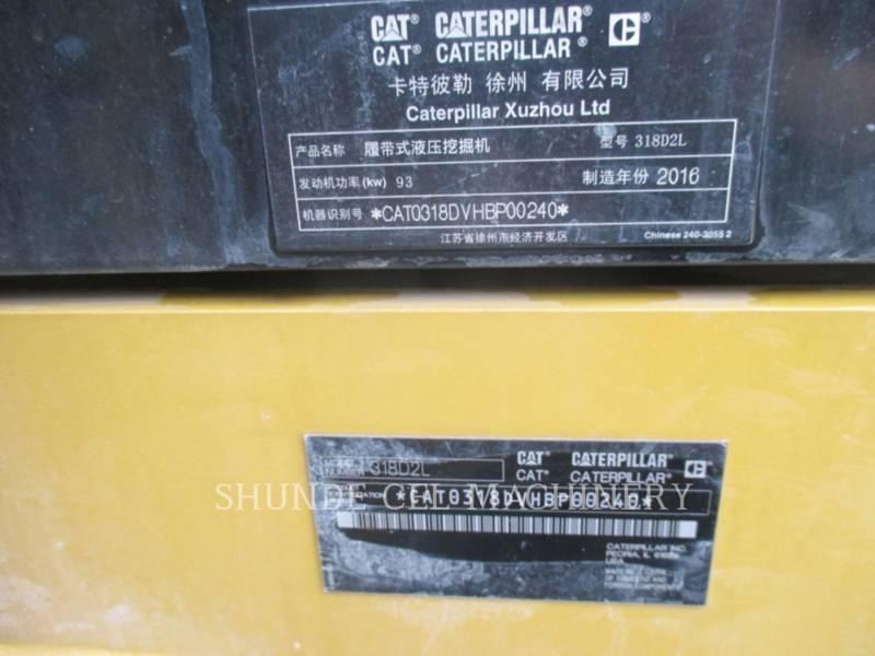 CATERPILLAR TRACK EXCAVATORS 318D2L equipment  photo 3