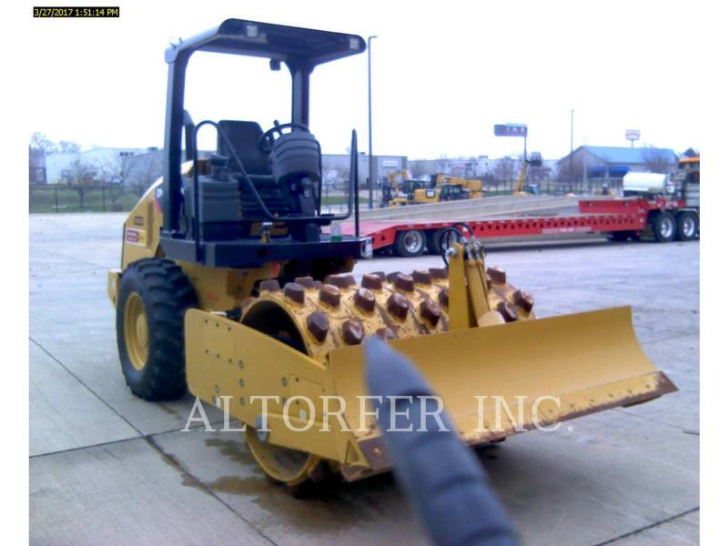 CATERPILLAR VIBRATORY SINGLE DRUM PAD CP44 equipment  photo 3