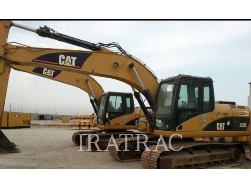 CATERPILLAR KETTEN-HYDRAULIKBAGGER 320 D equipment  photo 1