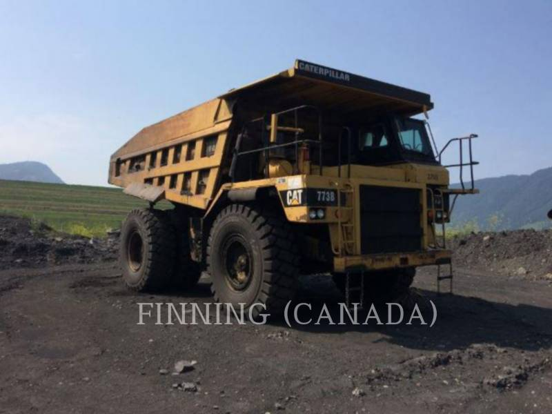 CATERPILLAR STARRE DUMPTRUCKS 773B equipment  photo 4